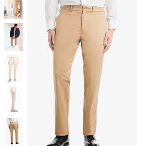 BauBax Stain/Water Resistant Men's Athletic Chinos